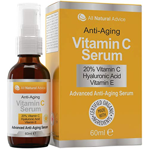 Siero alla vitamina C 20% • Completamente organico • Enorme...