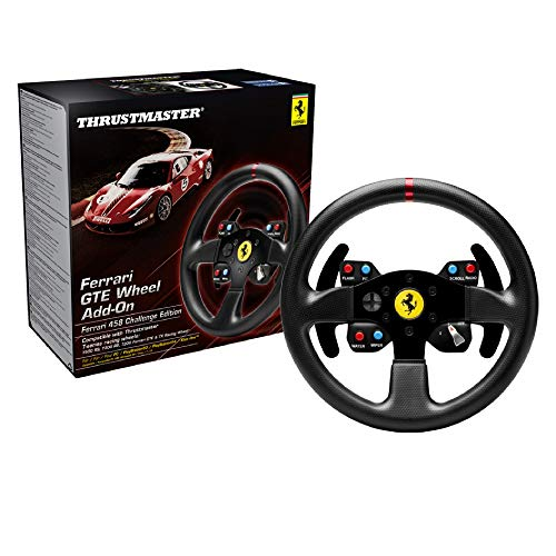 Thrustmaster Ferrari GTE Wheel Add-On (Volante AddOn, 28 cm, PS4...