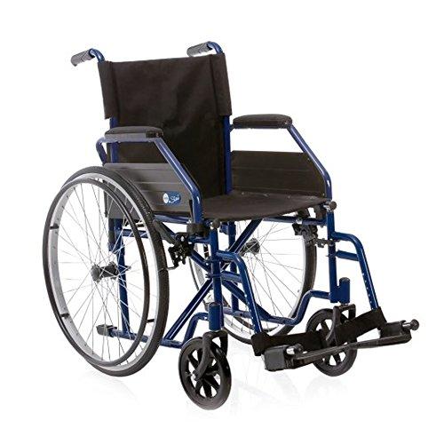 Sedia a rotelle pieghevole - Carrozzina disabili ad autospinta...