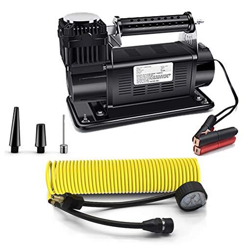 PXQ Compressore d'Aria Portatile per Pneumatici, 60 l/min 150...